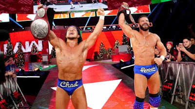 Chad Gable and Bobby Roode Raw Tag Team Champions by random alliance