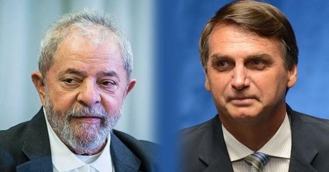Após um mês preso, Lula lidera intenção de votos; sem ele Bolsonaro vence em quase todos os cenários