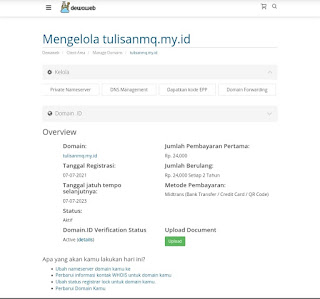 dns management menu