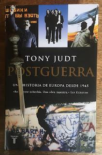 Portada del libro Postguerra, de Tony Judt