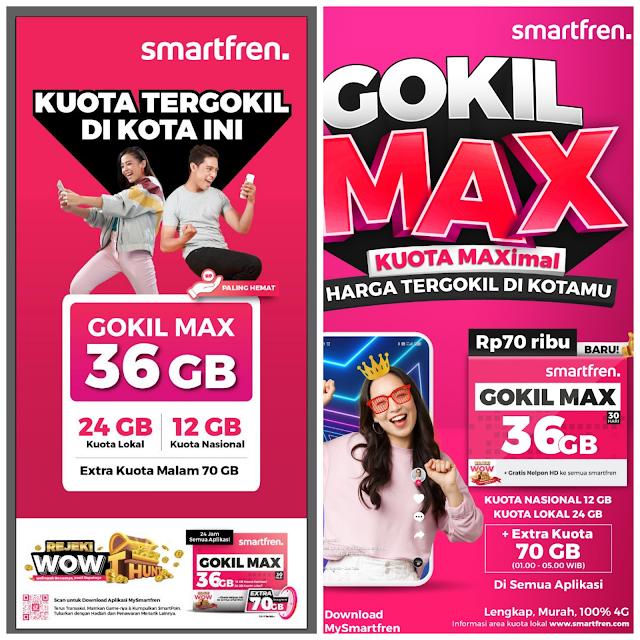 Gokil Max Smartfren