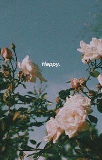 كلمة Happy في السماء