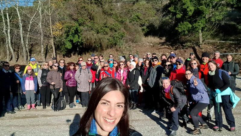 Με επιτυχία η πεζοπορική διαδρομή του Δρομέα Θράκης στα στενά του Νέστου