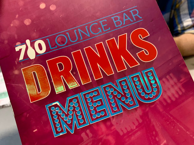 Lounge Bar Drinks Menu