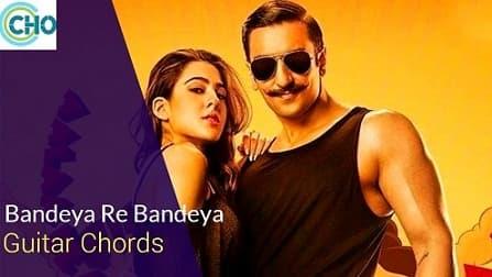 BANDEYA REY BANDEYA Guitar chords Accurate | Simmba | Arijit Singh