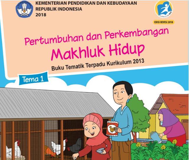 Buku Siswa SD/MI Kelas 3 Kurikulum 2013 edisi Revisi 2018
