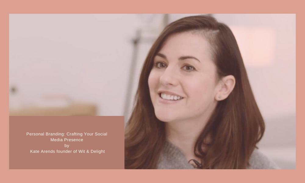 Kate Arends Skillshare Class on Personal Branding