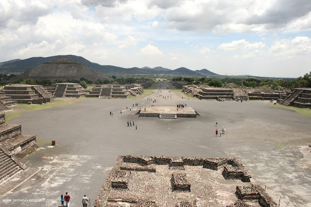 Avenue of the Dead, Teotihuacan, Mexico