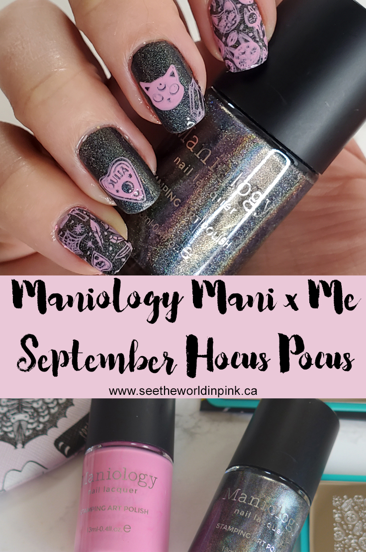 Manicure Monday - Hocus Pocus Maniology September Mani x Me Nails!