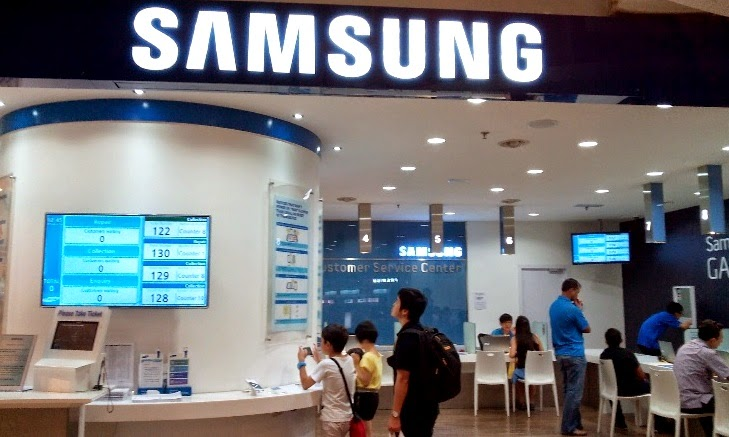 Samsung Mobile Service Center In Bangalore: Samsung Service Centre At Low Yat Plaza