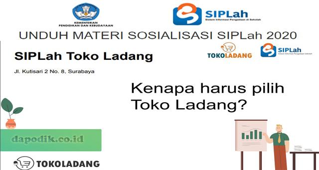 UNDUH MATERI SOSIALISASI SIPLah 2020 SIPLah Tokoladang