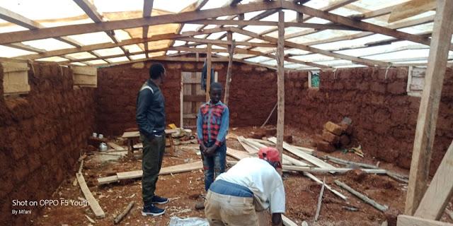 mushroom farming house in kenya