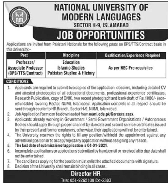 numl-jobs-2020-21-islamabad-for-professor-associate-professor