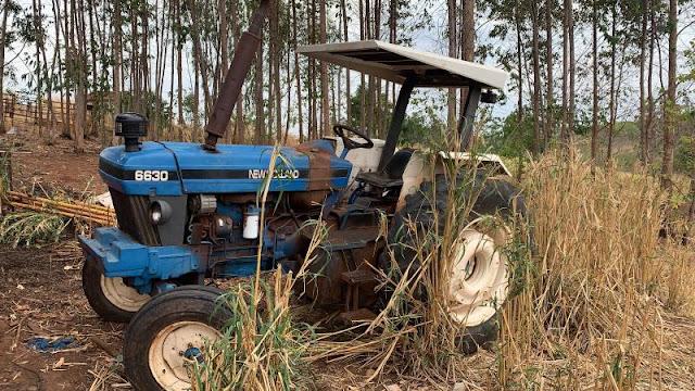Polícia Civil recupera trator furtado na zona rural de Martinópolis  -  Adamantina Notìcias