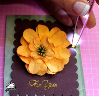 For You card by Bernii Miller for Couture Creations using the Heart Ease collection.