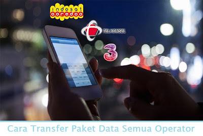 Cara Transfer Paket Data