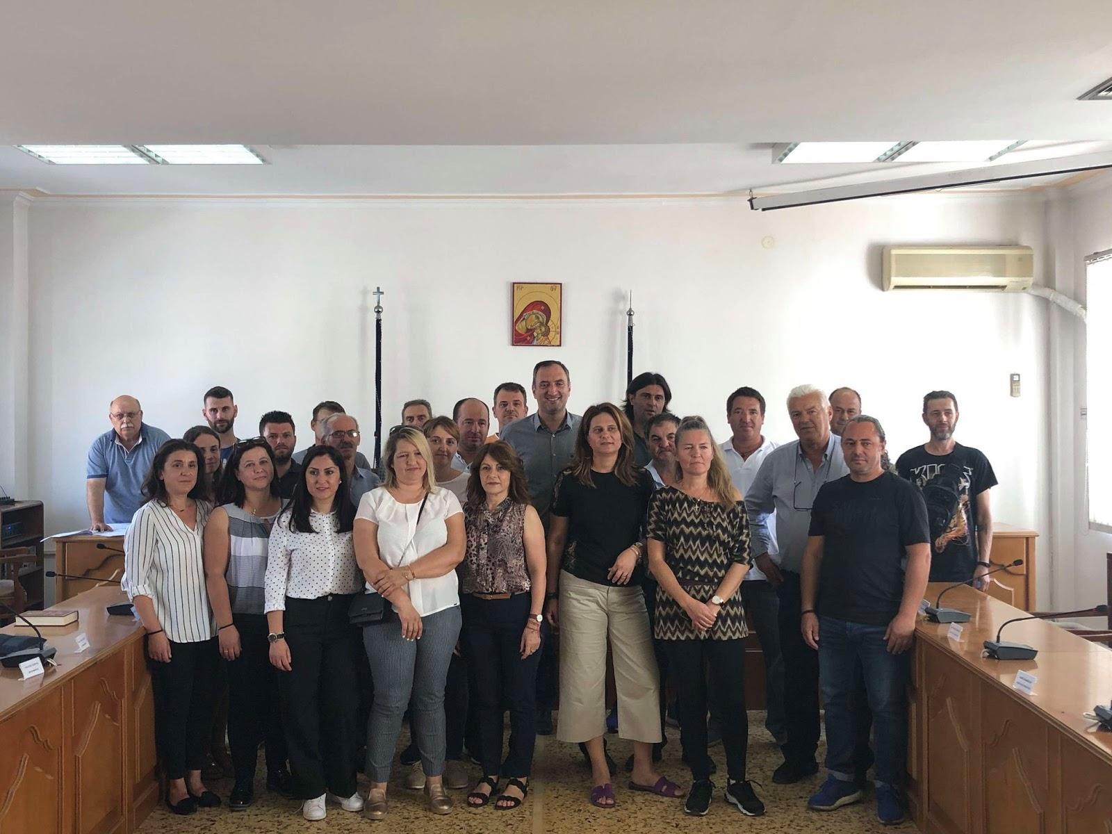 Ορκωμοσία επιτυχόντων προκήρυξης 3Κ/2018 στο Δήμο Τυρνάβου