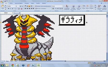 Giratina - Excel