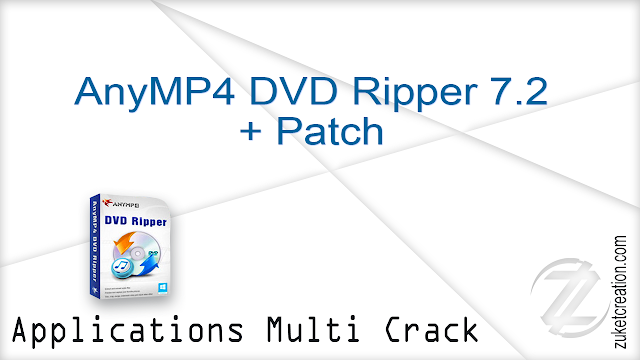 AnyMP4 DVD Ripper 7.2 + Patch