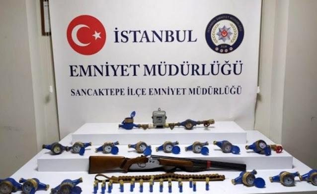 Yenidoğan'da su ve elektrik sayaçları çalan zanlı tutuklandı