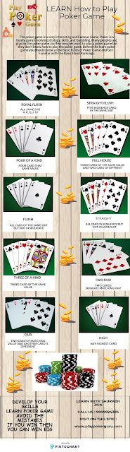 How to Play The Poker Game | Live Cash Home Games in South Delhi