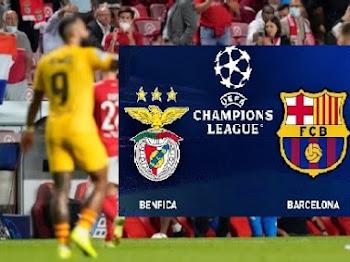 Skor 3- 0 Benifica Vs Barcelona | Keputusan Luar Jangkaan 30 September 2021