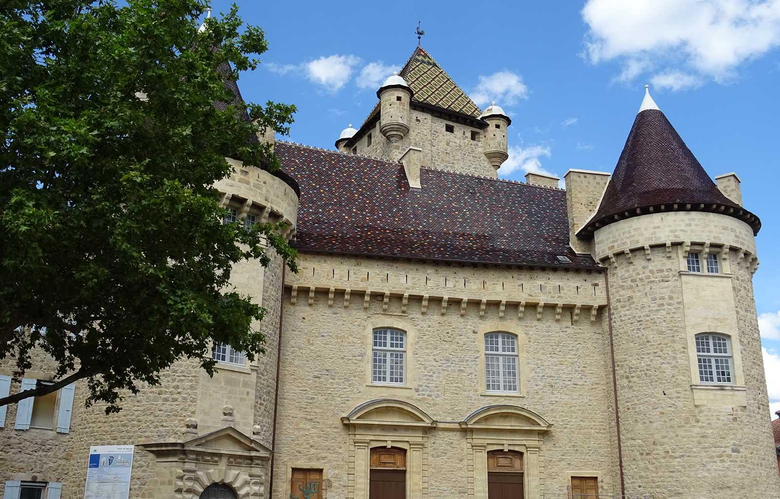 visites bonnes adresses Ardèche Aubenas château