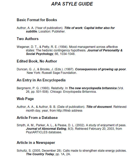 apa essay format generator
