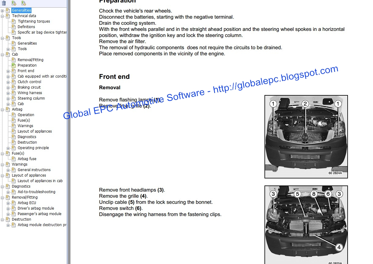 renault master 2005 wiring diagram of residential house global epc automotive software mascott