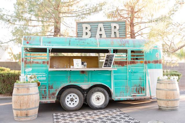 Shenandoah Mill bar trailer in Gilbert AZ