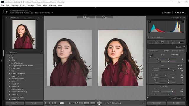Cara Menyimpan Foto di Lightroom