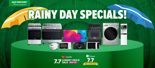 Top 6 Rainy Day Season Products from XTREME Appliances