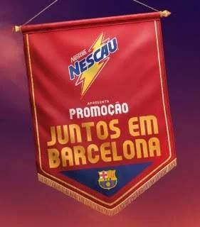 Cadastrar Promoção Nescau Juntos em Barcelona - Viagens Espanha e Achou Ganhou Prêmios