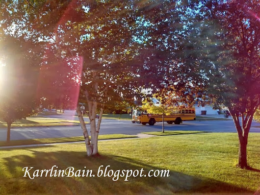 Thank You School Bus Drivers ~ A Kindness Mission Blog Hop ~ by Karrlin Bain