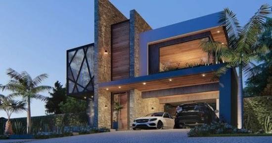 Lingkar Warna List Daftar Desain Rumah Minimalis Modern Terbaru