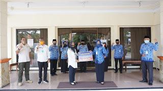 Korpri Kota Mojokerto Donasikan Rp 165 Juta untuk Penanganan Covid-19
