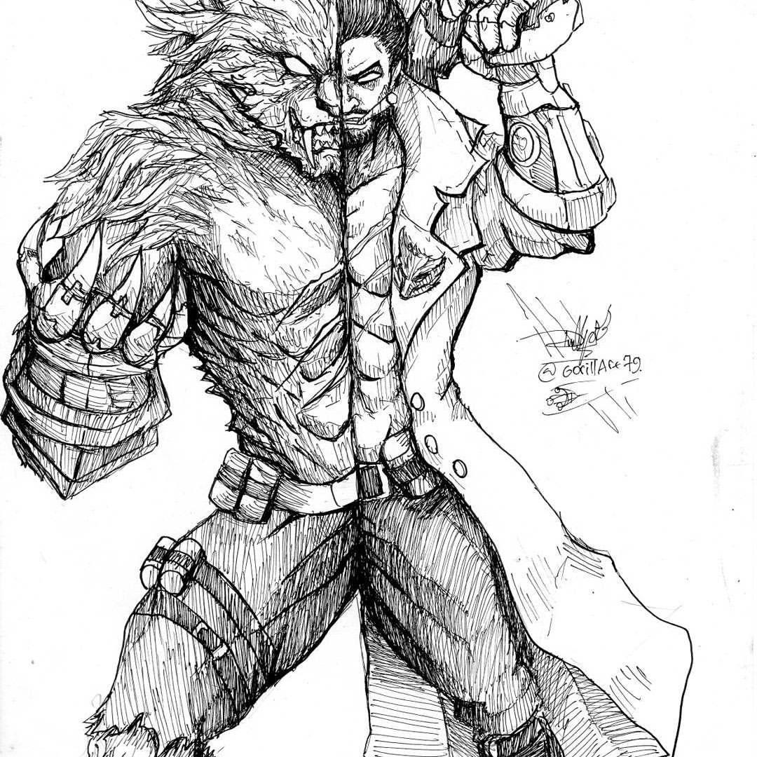 28 Amazing Mobile Legends Hero Sketch Fanart By