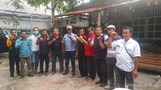 Persiapan Pra Pelantikan Persatuan Wartawan Republik Indonesia (PWRI) Blora