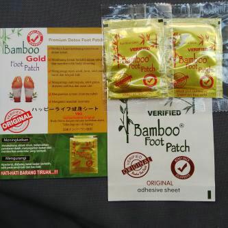 Agen / Distributor Jual Koyo Kaki Bamboo Foot patch Gold VBO Original Kualitas Super Harga Grosir Termurah