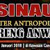 Sinau Teater Antropologi Bersama Anwari di Candi Sawentar