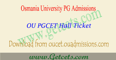 OU PGCET 2018 hall ticket download oucet,ou pgcet hall ticket download 2018,oucet hall ticket 2018
