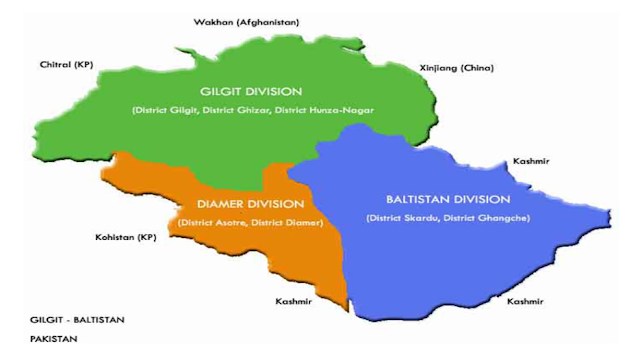 Hunza is in which division of Gilgit Baltistan?