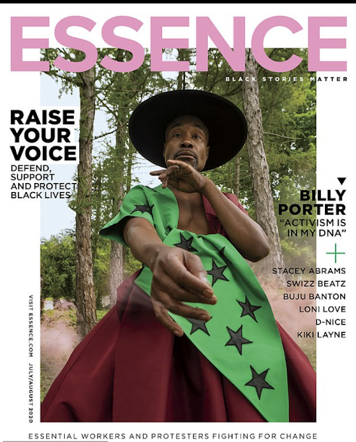 20200704 082733 - Billy Porter turns into first homosexual man to cowl Essence journal
