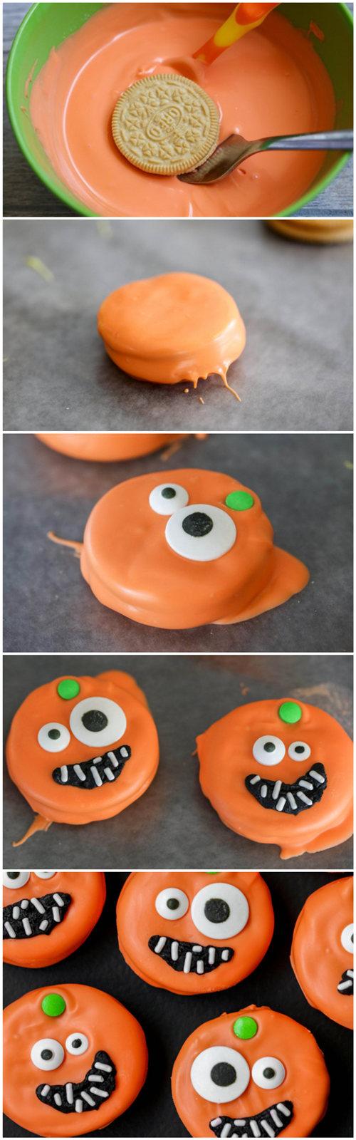 Pumpkin Oreos