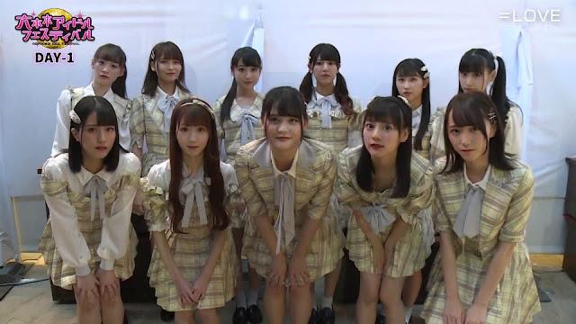 =LOVE – TV Asahi Roppongi Idol Festival 2019 191012 (TV Asahi)