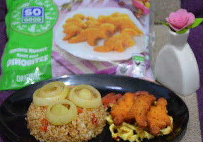 Resep Masakan Rumah Khas Ramadhan So Good : Nasi Goreng Bombay dengan Chicken Nugget So Good Dinobites yang Nikmat