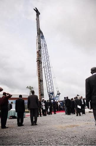 President Jonathan Kicks Off Construction Of 2nd Niger Bridge