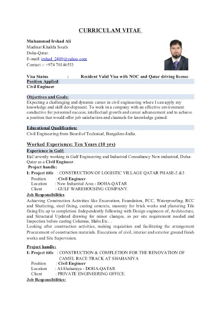 construction engineer resume format 28 images doc