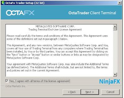 Install MetaTrader 4 pada OS Windows