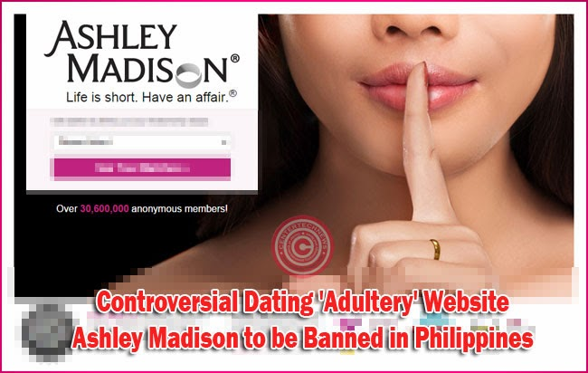 Controversial Dating 'Adultery' Website Ashley Madison to be Banned in Philippines